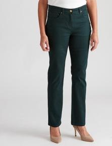 Millers full length 5 pkt tapered leg coloured jean