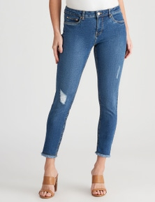 Crossroads Girlfriend Core Crop Jean