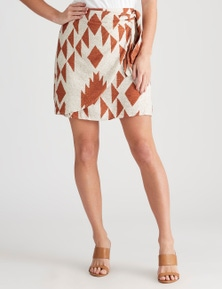 Crossroads Knot Side Geo Skirt