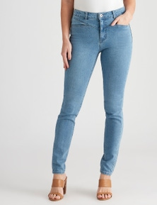 Crossroads Panelled High-Rise Jean
