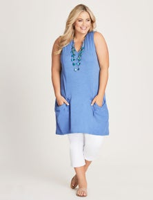 Autograph Ruched Pocket Tunic