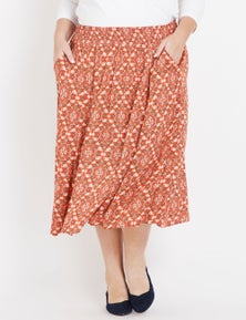 Autograph Patch Poetry Skirt