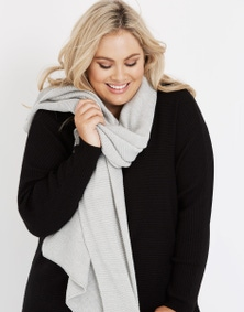 Autograph Ribbed Scarf