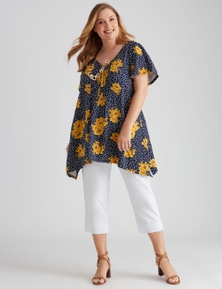 Autograph Pin Tuck Top