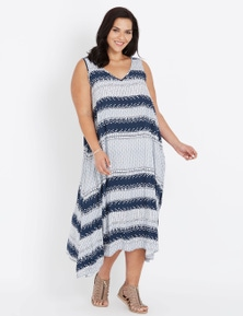 Autograph Casual Trapeze Midi Dress