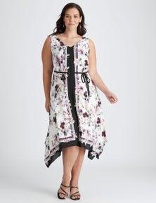 Autograph Blooms Midi Dress