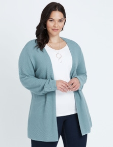 Autograph Ribbed Cardigan