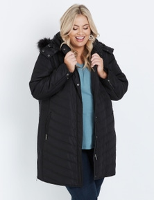 Autograph Quilted Fur Jacket