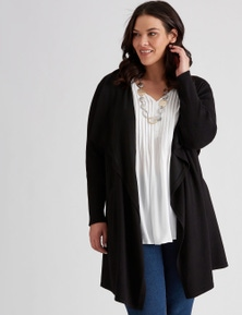 Autograph Belted Waterfall Cardi