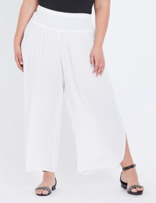 Autograph Woven Shirred Waist Pant