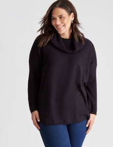 Autograph Cowl Neck Knit Top