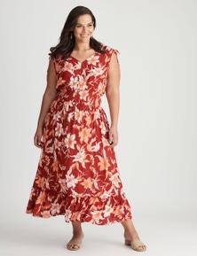 Autograph Woven Smocked Waist Dress