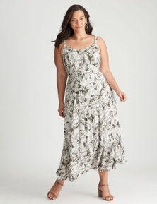 Autograph Woven Tiered Maxi Dress