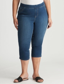 Autograph Pull On Crop Jeans