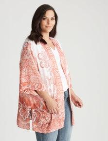 Autograph Woven Global Traveller Kimono