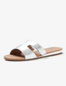Autograph Cut Out Slip On Sandals