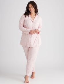 Button Front PJ Set