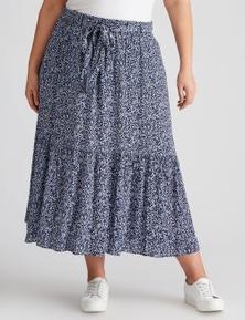 Autograph Woven Belted Skirt