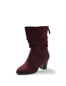 Autograph Suedette Ruched Skye Boot