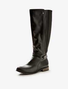 Autograph Buckle Tall Boot