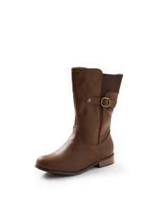 Autograph Side Buckle Mid Length Boot