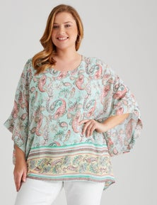 SS BATWING TOP