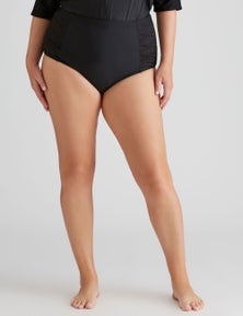 Autograph Mesh Trim Bikini Bottom