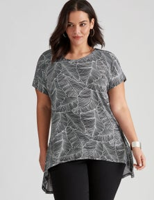 Autograph Knit Extended Sleeve Hilo Top