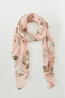Autograph Pink Roses Scarf