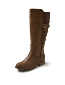 Autograph Side Buckle Tall Boot