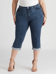 Beme The Secret Shaper Cropped Jean