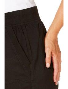 Beme 3/4 Cropped Poplin Pant