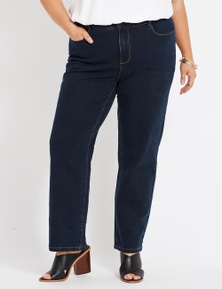 Beme Secret Shaper Straight Leg Short Jeans