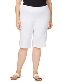 beme Studded Pull On Bengaline Short