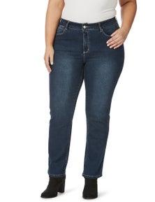 Beme Secret Shaper Straight Leg Regular Jean
