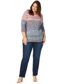 Beme Secret Shaper Straight Leg Tall Jean