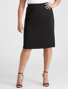 Beme Textured Skirt With Split