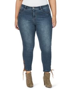 Beme Lace Up Jean