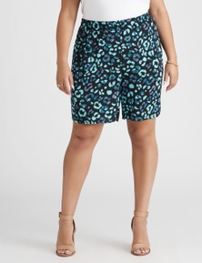 Beme Animal Print Short