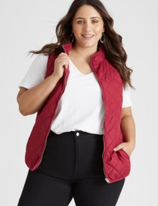 Beme Sleeveless Rumba Red Vest