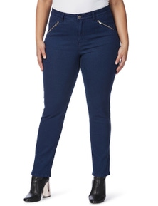 Beme Regular Length Slim Leg Jeans
