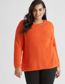Beme Long Sleeve Textured Jumper