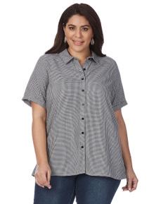 Beme Short Sleeve Chequered Shirt