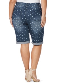 Beme Knee Length Star Short