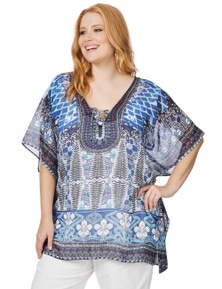 Beme Elbow Sleeve Kaftan