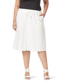 Beme Midi A Line Skirt