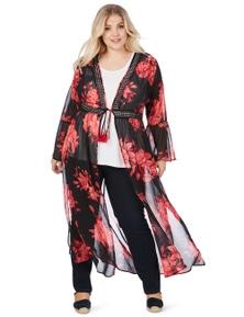 Beme Long Bell Sleeve Kimono