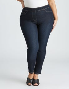 Beme Luxe Pull On Regular Jean