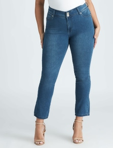 Beme Hour Glass Slim Regular Length Jean