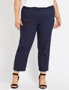 Beme Ankle Tapered Stretch Twill Pant